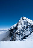 Summit of Mt Jungfrau - Top of Europe Royalty Free Stock Photography