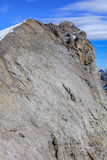 Summit of Mt. Titlis in the Swiss Alps Stock Image