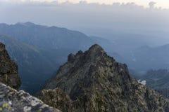 Summit - Niznie Rysy (Male Rysy, Nizne Rysy) Royalty Free Stock Image