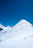 Summit Of Mt Jungfrau Stock Photos