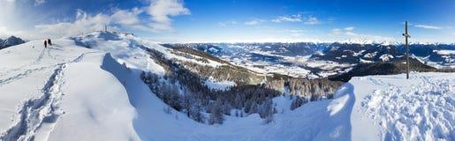 Summit panorama Stock Photos