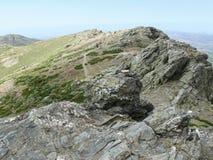 The summit of Punta la Marmora - Gennargentu National Park Royalty Free Stock Image