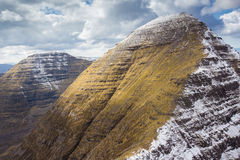 Summit of Sgurr Mhor (Ben Alligin) Royalty Free Stock Photography