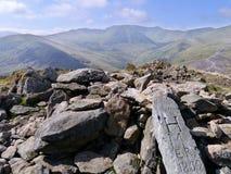 Summit of Sheffield Pike, Lake District Royalty Free Stock Image