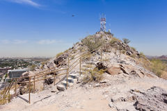 A Summit Shot of Tempe Butte, Tempe Stock Images