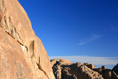 Summit of Sinai. View from the summit of Sinai Stock Image