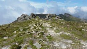 The summit of slieve binnian ireland Stock Photos