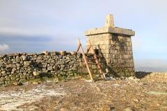 Summit of Slieve Donard, Northern Ireland's Highest Peak Stock Photo
