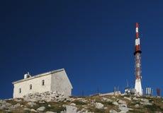 Summit of Sveti Jure in Biokovo Royalty Free Stock Photo