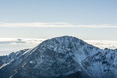 Summit in Tatras Royalty Free Stock Image