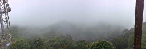 Summit view - Gunung Brinchang Royalty Free Stock Images