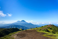 Summit view from prau mount Royalty Free Stock Image