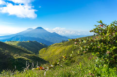 Summit view from prau mount Stock Photo