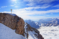 Zugspitze mountain, Germany Royalty Free Stock Image