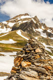 Summits in the Alps Royalty Free Stock Photos