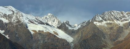 Summits in fall Royalty Free Stock Photo