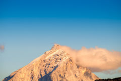 Summits of Monte Antelao Stock Photography