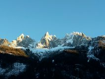 The summits Stock Photo