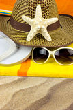 Summer holiday on a beach Stock Photography