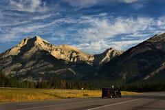 Summmer i nationalparken, berg för steniga berg Arkivfoto