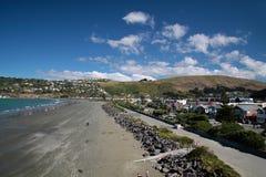 Sumner Beach nahe Christchurch Lizenzfreie Stockfotos