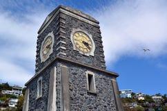 Sumner Scarborough Clock Tower Christchurch - Nieuw Zeeland royalty-vrije stock afbeeldingen