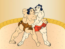 Sumo Royalty Free Stock Photography