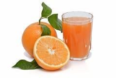 Sumo de laranja. Imagem de Stock Royalty Free