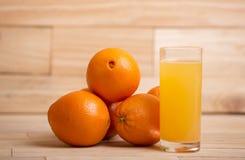 Sumo de laranja Foto de Stock