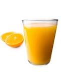 Sumo de laranja fotografia de stock royalty free