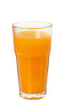 Sumo de laranja em um vidro Fotografia de Stock Royalty Free