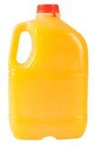 Sumo de laranja. Isolado Fotos de Stock Royalty Free