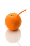 Sumo de laranja puro Imagens de Stock Royalty Free