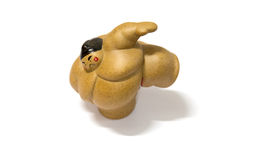 Sumo Doll. With the aggressive acting stock images