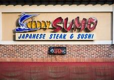 Sumo heureuse Photo stock