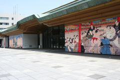 Sumo Museum, Tokyo Royalty Free Stock Photography