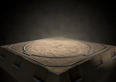 Sumo Ring Empty Royaltyfri Fotografi