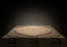 Sumo Ring Empty Stock Images