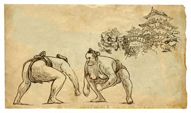 Sumo stock illustration