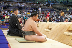 Sumo Tournament Royalty Free Stock Photo
