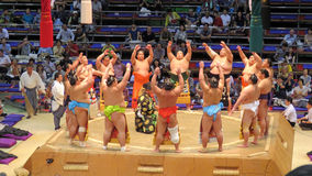 Sumo tournament in Nagoya Stock Image