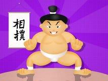 Sumo wrestler Royalty Free Stock Image