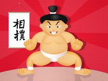 Sumo wrestler Stock Photo
