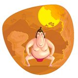 Sumo Wrestler Royalty Free Stock Photography