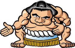 Sumo wrestler Royalty Free Stock Image