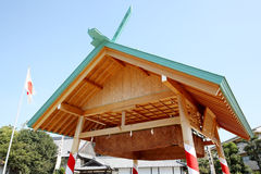 Sumo wrestling house Stock Image