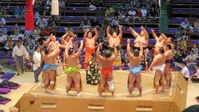 Sumoturnering i Nagoya Fotografering för Bildbyråer