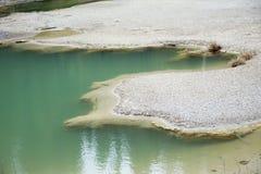 Sumpfiges Wasser Lizenzfreies Stockbild