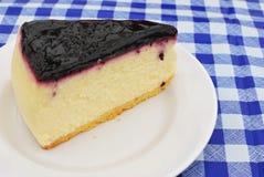 Sumptuous blueberry cheesecake Royalty Free Stock Photo