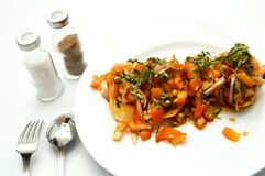 Sumptuous Dish Royalty Free Stock Images